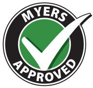 Myers Approved Logo