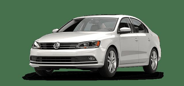 A white Volkswagen Jetta
